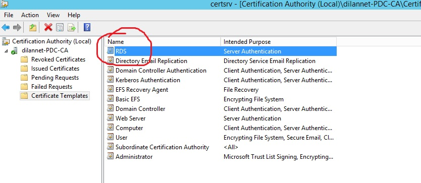 Creating a wild card certificate for remote desktop services now open a mmc and select certificate snap in then add click ok yelopaper Choice Image